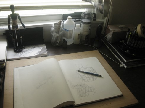 My Drawing Desk