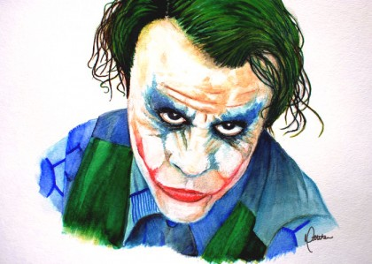 The Joker [Watercolor Pencils]